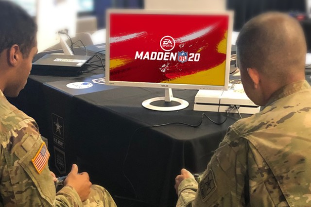 Twelve Soldiers are headed to Frisco, Texas, for a weekend of esports and a Dallas Cowboys football game after multiple Madden NFL 20 tournaments crowning winners were held worldwide. Courtesy photo