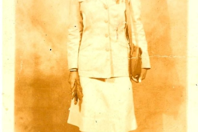 Pfc. Maybelle Campbell, 6888th Central Postal Directory Battalion