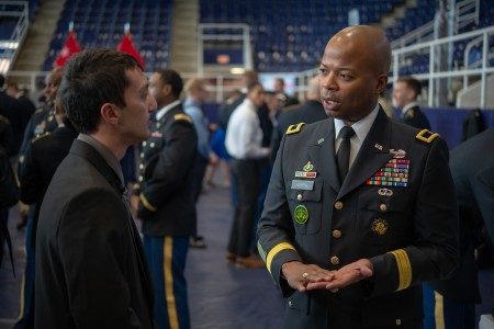 Army senior leaders engaged with cadets during the Cadet Command 2019 Senior Leader Development Conference at Howard University, Nov. 7.