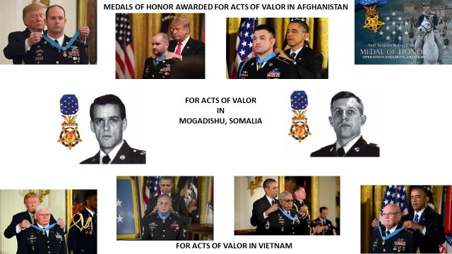 30 Years - 10 Army Special Operations Forces Medal of Honor recipients