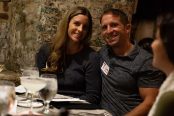 Rangers and spouses enjoy Chaplain led date night