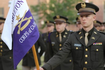 Marching as one, cadets celebrate heritage and tradition