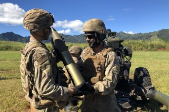 U.S. and New Zealand field artillery troops 'bring the thunder' in Hawaii