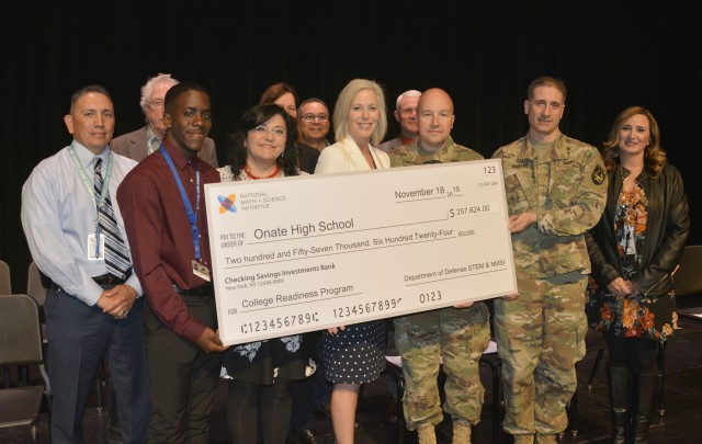 New Mexico school receives STEM grant that supports military families