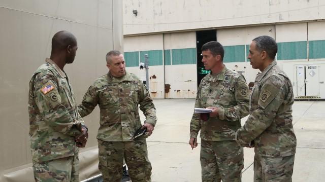 AMC Commander visits 82nd Airborne Division