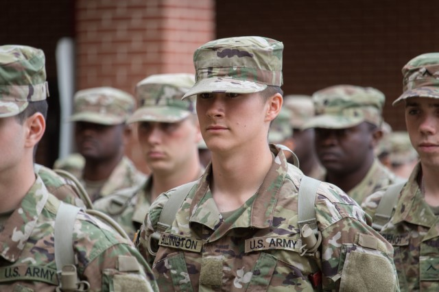 Pvt. Rhys Bullington arrived at Fort Leonard Wood from his hometown of Sparta, Missouri, for Basic Combat Training on Oct. 28.