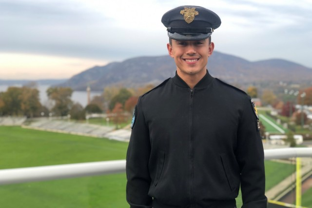 Class of 2020 Cadet Sylvan Blankenship is a member of the Tlingit Tribe of southern Alaska.