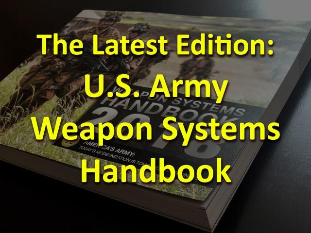 Weapon Systems Handbook