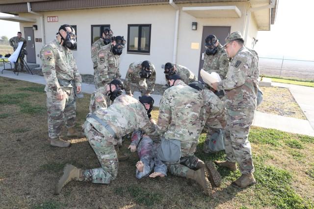 501st Military Intelligence Brigade Conducts CBRN Training