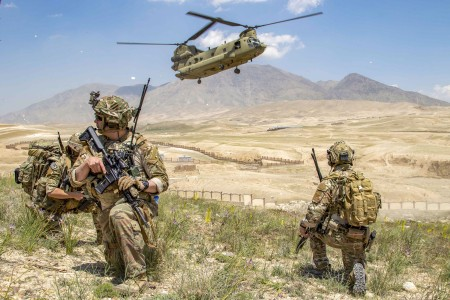 Lt. Col. Matt Johnston and Sgt. 1st Class Nicholas Nigro noticed a stark difference in the Afghan national defense forces this time around.