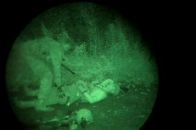 The Irregular Warfare Group conducted a direct action exercise giving the training groups a firm foundation in raids, ambushes, patrolling and night operations.
