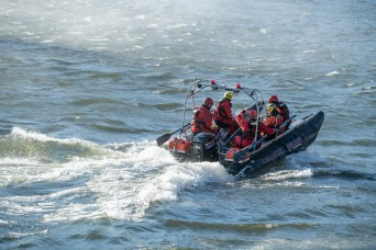 WVNG hosts multiagency swift water search-and-rescue exercise