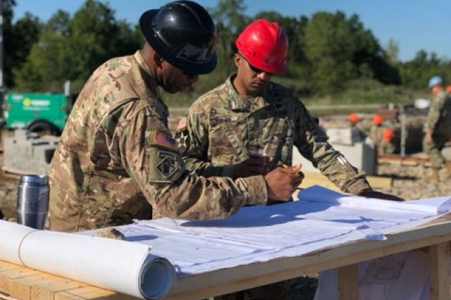 Between two deployments and regular duty obligations at their unit, the 15 or so Soldiers of 15th Engineer Construction Company, 19th Engineer Battalion, have worked tirelessly for the past two months on a steel cutting bunker that will allow combat engineers to train on explosives. The facility is expected to be completed sometime in early summer 2020.