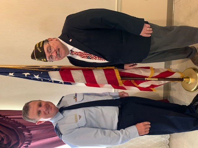 Foreign officers celebrate U.S. Veterans Day in Pennsylvania