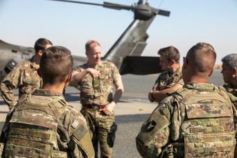 30th Armored Brigade Combat Team joins British Soldiers for MEDEVAC training