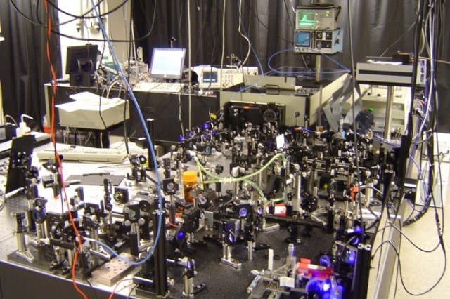 An Optical table with broad-band laser for generation of fast, complex laser pulses for Quantum Molecular Control at Princeton University is an example of equipment purchased with a previous DURIP.