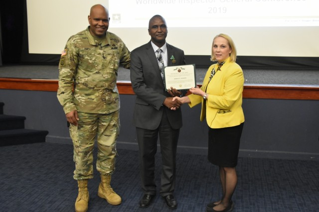 The Inspector General honors Civilians of the Year