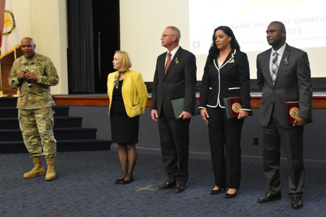 Army IG Civilians of the Year honored