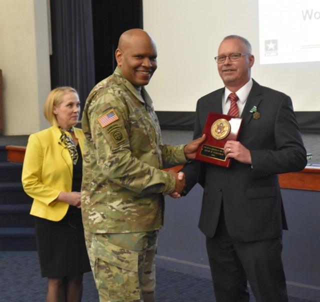 The Army Inspector General honors Civilians of the Year