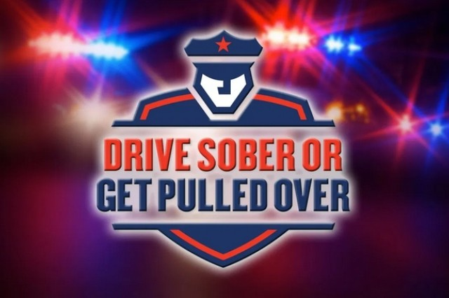 Drive Sober of Get Pulled Over campaign by the U.S. Department of Transportation.