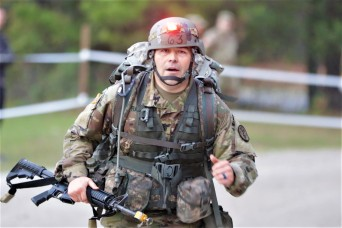 1st Sgt. earns Expert Field Medical Badge 13 years after first attempt
