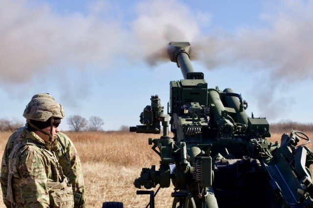 Noncommissioned officers from the NCO Academy Advanced Leaders Course at Fort Sill train artillerymen how to lead crews as section chiefs and learn to better deliver rounds downrange on the M777 howitzer.