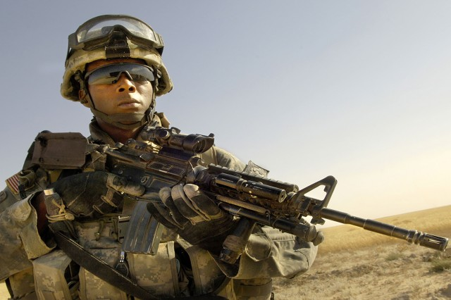 By wearing eye protection, Soldiers greatly reduce the number and the severity of injuries.