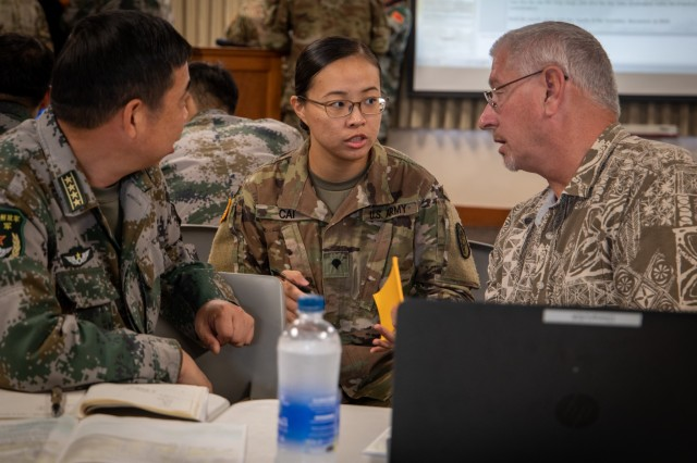 The DME is one of the key security coordination events the U.S. conducts with the PLA each year; the DME has matured from basic visits and briefings into a substantive exchange that uses table top and practical field exchanges to focus and facilitate risk reduction and interaction between the U.S. Army and the PLA.
