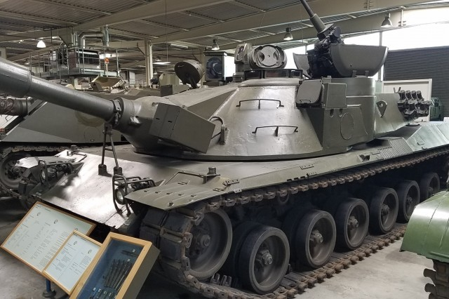 International Technology Centers started as interoperability offices. In Germany, this meant building collaboration agreements to support development of a main battle tank. The MBT70, above, is the common ancestor of the M1 Abrams and the Leopard tanks, which share common components, such as the L44/M256 120 mm smoothbore cannon.