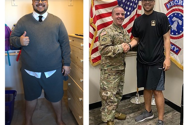 Florida man drops 160 pounds to fulfill Army dream