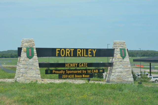 Fort Riley Henry Gate
