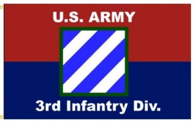 3rd Infantry Division Flag