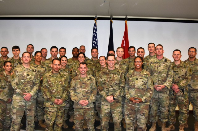 Gen. Michael Garrett, commanding general, U.S. Army Forces Command recognized 25 captains and 10 warrant officers from throughout the command Dec. 6 as part of FORSCOM's annual Gen. Douglas MacArthur Leadership Assessment at Fort Bragg, N.C.