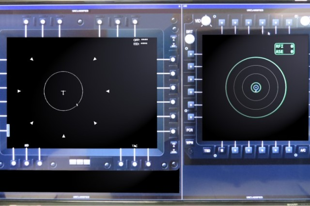 Multifunctional Display (left) and Multi-Purpose Display (right) Emulators bring actual cockpit display capabilities to the ARAT at a fraction of the cost of actual hardware