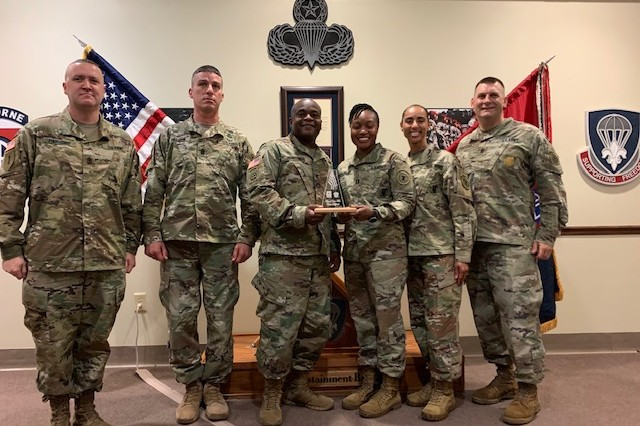 82nd Airborne Division Sustainment Brigade partnered with Fayetteville Recruiting Company for the first ever job shadowing pilot program for future Soldiers, Dec 3-6, here on Fort Bragg.