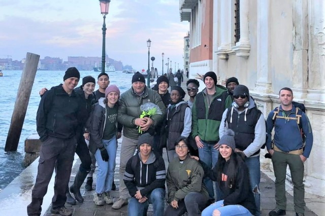 """Soldiers from DENTAC Italy volunteered to assist in the """"Save Venice"""" cleanup and recovery efforts following the historic flooding that struck Venice, Italy recently."""
