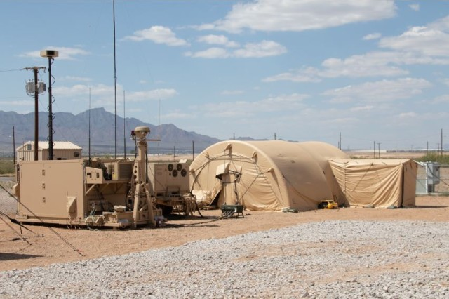 The U.S. Army conducted a successful intercept test with the Integrated Air and Missile Defense (IAMD) Battle Command System (IBCS), Dec. 12, 2019 at White Sands Missile Range, N.M. The test was executed by the IAMD Project Office and Soldiers of the 3-6 Air and Missile Defense Test Detachment (3-6 AMDTD).