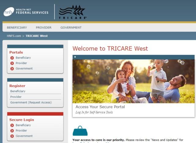 TRICARE website