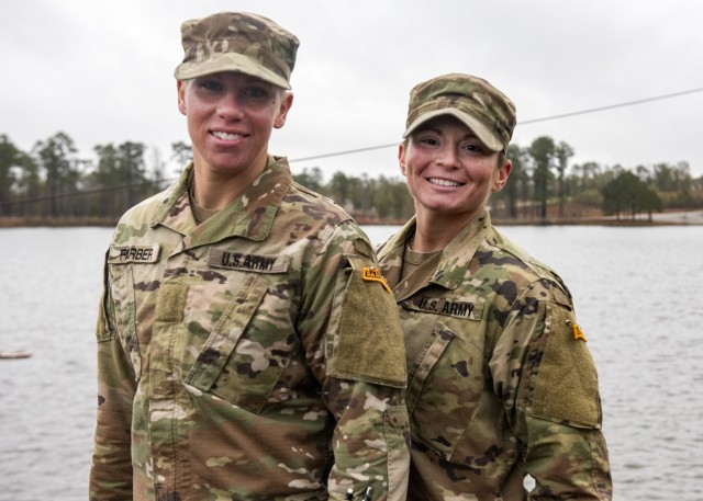 Enlisted female Guard Soldiers graduate Army Ranger School