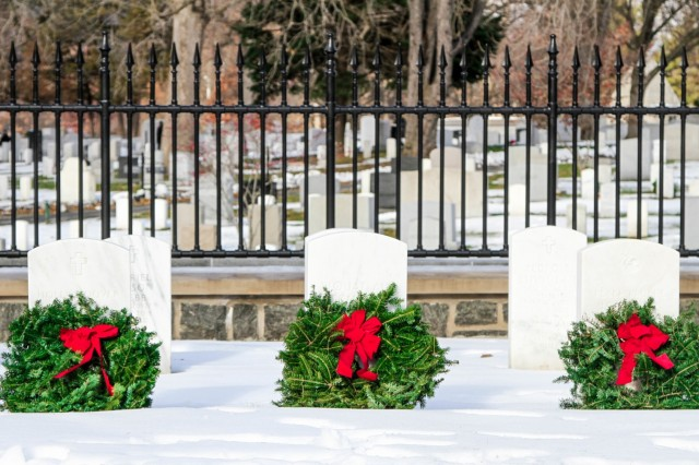 Wreaths were placed all throughout the West Point Cemetery Saturday during a Wreaths Across America event. No grave went uncovered thanks to generous donations from sponsorships and non-profits.
