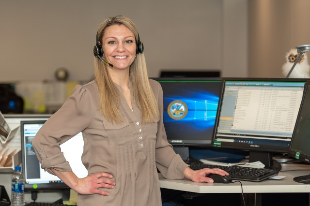 Information Technology Specialist Carly DeAntonio is Tobyhanna Army Depot's Employee of the Quarter for the fourth quarter of fiscal year 2019, junior category.