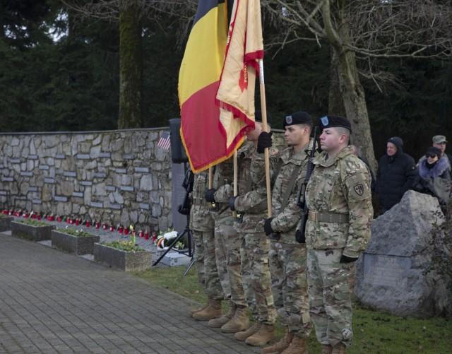 U.S. and Belgium honor the fallen on 75th Anniversary of Malmedy Massacre