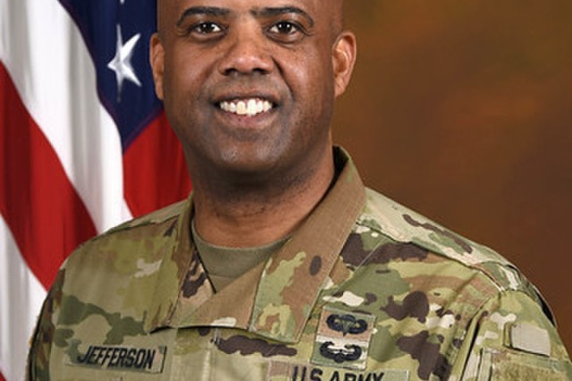 Sgt. Maj. Wardell Jefferson, Sergeant Major, Headquarters Department of the Army G-1
