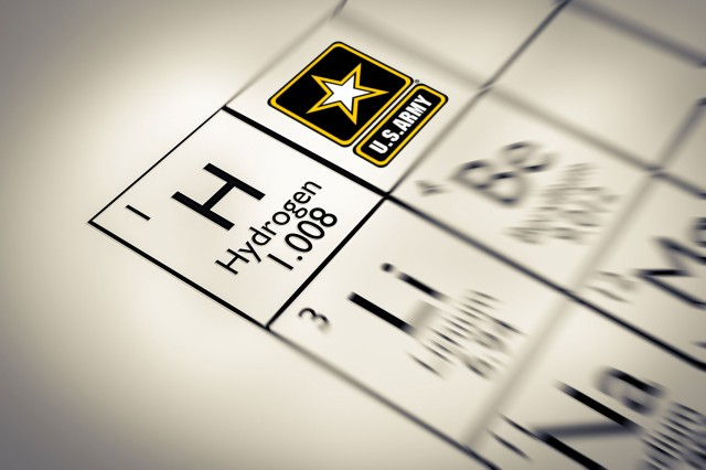 No 7: Army officials announce the exclusive licensing of a new technology designed to harvest hydrogen from an aluminum alloy powder and any fluid that contains water.