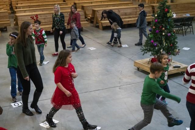 XVIII Airborne Corps celebrates holiday season