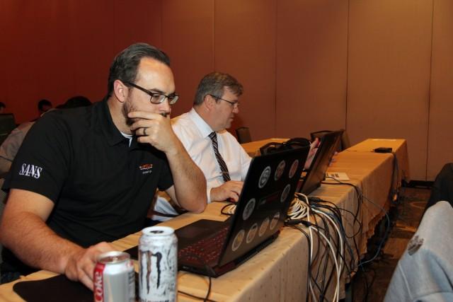 780 MI BDE Team SANS NetWars Tournament of Champions