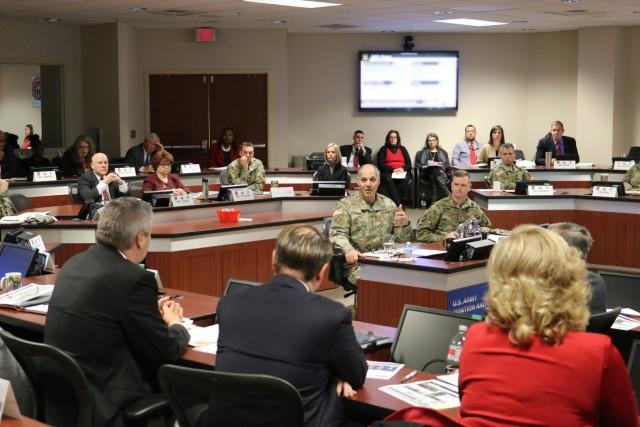 AMCOM provides updates to AMC's Commanding General