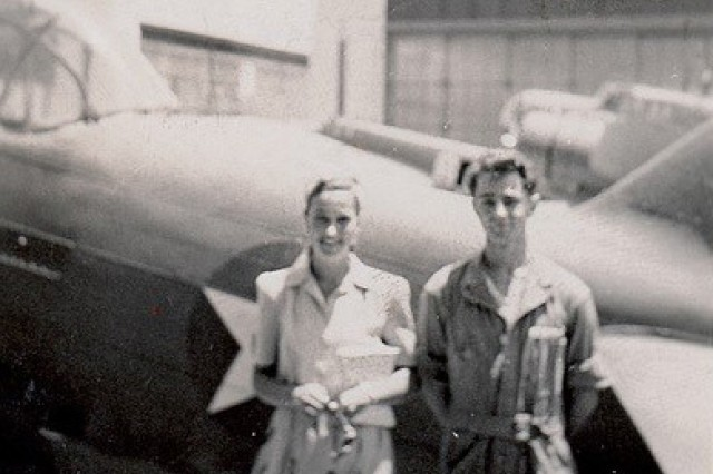 An undated photo of William P. Bonelli in Hawaii with his girlfriend.