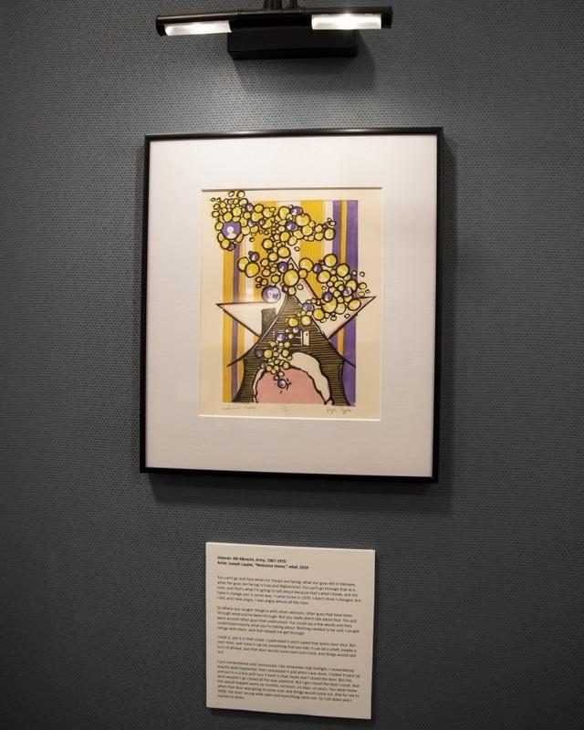 EVAC art exhibit now on display at RIA Museum