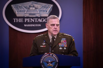 Joint Chiefs chairman: Defensive measures prevented casualties in Iranian attack